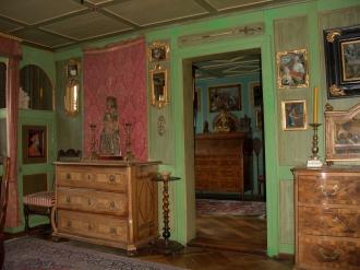 Wohnräume mit originaler Einrichtung