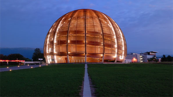 Globe de la science et de l'innovation / CERN