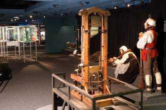 Schand- und Todesstrafen im historischen Teil