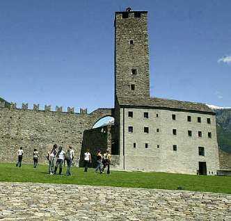 Parte della fortezza ducale, 15° sec.