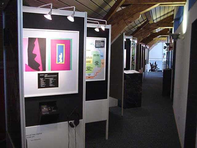 Ausstellung Dachstock