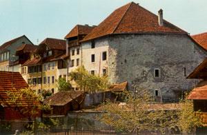 Das ehemalige Armenhaus war Teil der alten Stadtmauer.