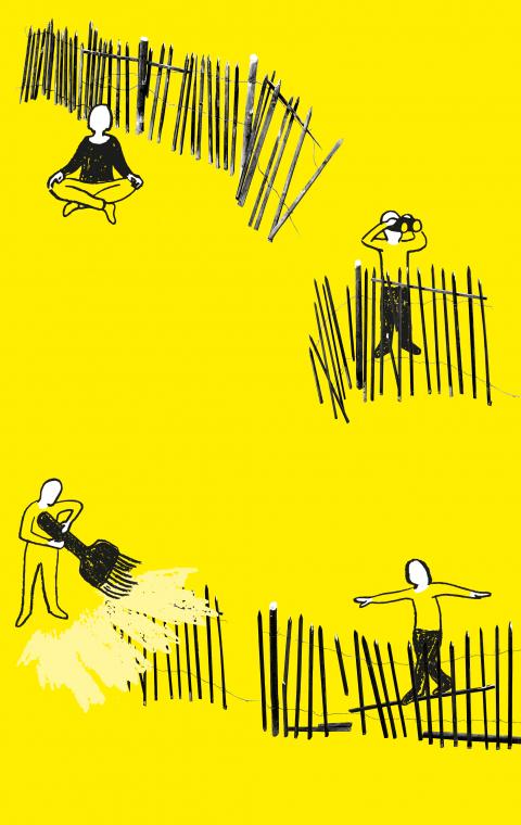 Sonderausstellung: Über Grenzen. Neugier, Hoffnung, Mut