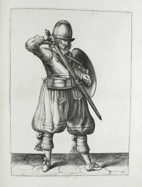 Jacob de Geyhn, Maniement d'armes, 1608.