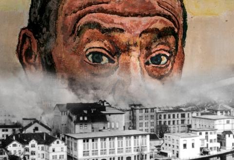 Ausschnitt Plakat «Kunst aus Trümmern», 2019