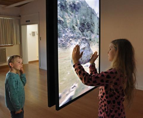 Museum zu Allerheiligen, Foto in Ausstellung