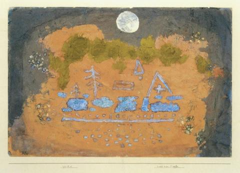 Paul Klee, Vollmondopfer, 1933