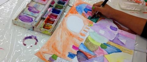 Atelier creativo al Museo in erba