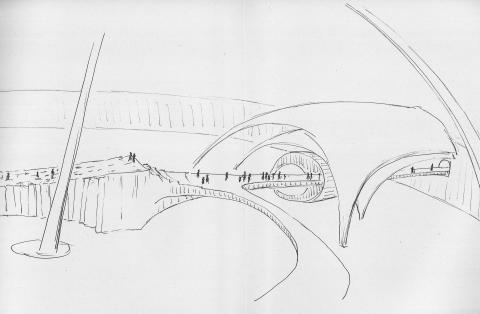 Erwin Rehmann, Ein imaginäres Museum, um 1980